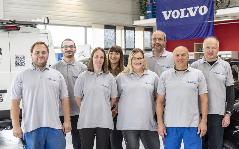 Teamfoto - Truckcenter Issler - Rheinfelden